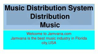 music distribution system streaming