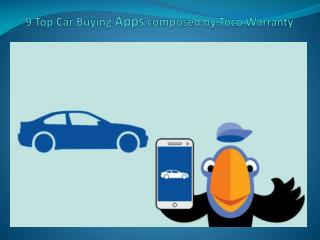9 Preferred Car Buying Programs composed by Toco Warranty