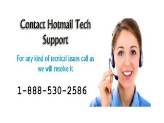 1-888-530-2586 Hotmail Customer Service Number| hotmail customer support toll free