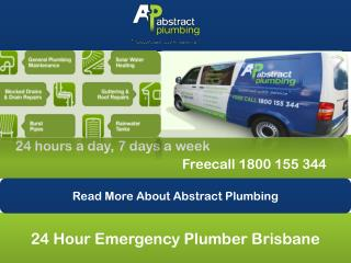 24 Hour Emergency Plumber Brisbane
