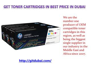 Get Toner Cartridges in best Price in Dubai