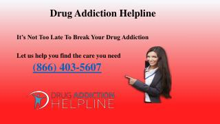 Drug Addiction Helpline