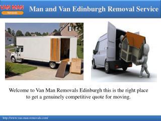 Amazing service of Man and Van Edinburgh