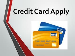Credit Card Apply : Can't Get a Credit Card? Apply for a Secured Credit Card Instead