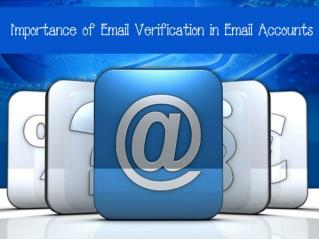 Importance of Email Verification in Email Accounts