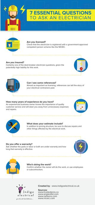 7 Essential Questions to Ask an Electrician