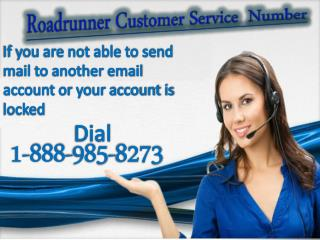 Roadrunner Customer Service  Number  1-888-985-8273
