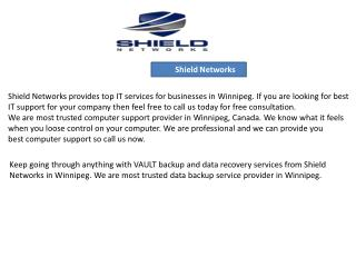 Best IT Support company in Winnipeg for small businesses