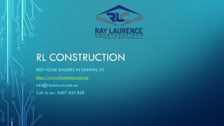 Builders in Darwin