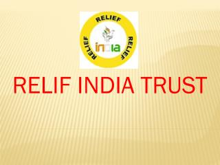 relif india trust ngo