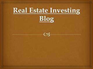 Real Estate Investor Groups