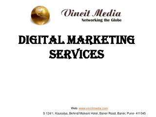 Digital Marketing Company in Pune- SEO | SMO/SMM | SEM- Vincit Media