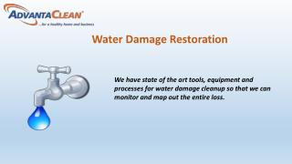 Tackling water removal in your home