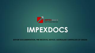 ImpexDocs offering solutions and services that makes export easy