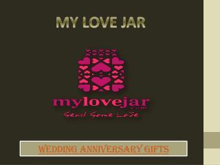 Anniversary Jar Gifts
