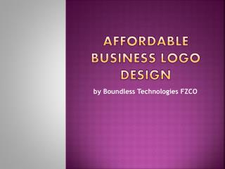 Excellent Dubai company logos by Boundless Technologies FZCO