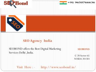 Best Digital Marketing Company India | SEOBOND
