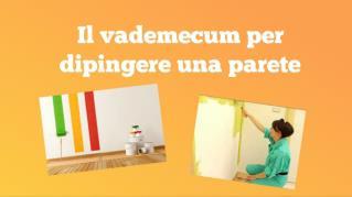 Il vademecum per dipingere una parete