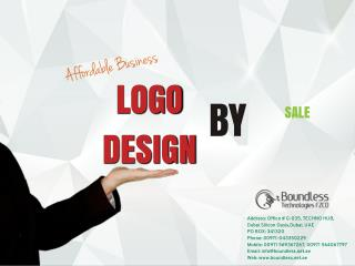 Creative logo designers in Dubai by Boundless Technologies FZCO
