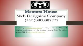 Website Designing - Best Website Design Company