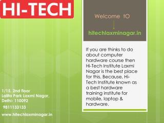 Computer Hardware Course & Training Institute in Laxmi Nagar