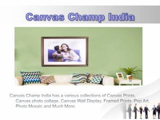 Buy Canvas Prints Online in India