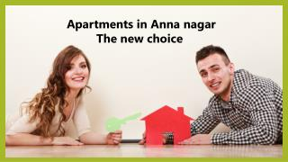 Apartments for sale in Anna nagar-Time to invest