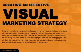 How to Create a Visual Marketing Strategy that Works