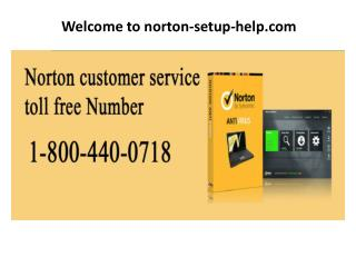 Norton Customer Support 1-800-440-0718