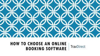How to Choose an Online Booking Software