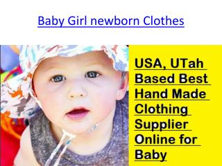 Online Handmade Baby Clothes