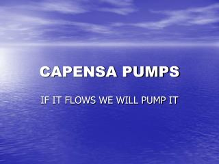 CAPENSA PUMPS