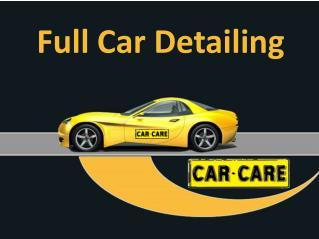 Full Car Detailing