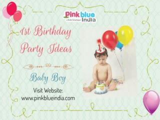Awesome 1st Birthday Outfits & Party Ideas for Boys