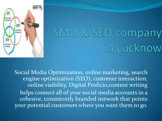 SMO & SEO company in Lucknow