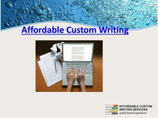 quality research paper writing services
