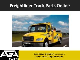 Freightliner Global Parts Dealer - AGA Parts