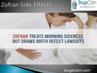 Zofran Side Effects