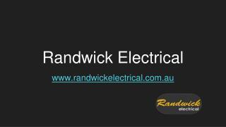 Electrician Randwick