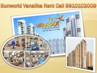 Sunworld Vanalika Available for Rent flats 2bhk 3bhk 4bhk