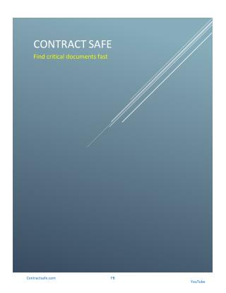 ContractSafe LLC