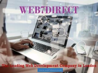 Web7direct - The Leading Web Development Company in London
