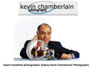 Expert headshot photographer Sydney Kevin Chamberlain Photography
