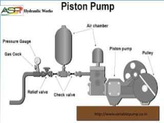 Piston Pump Repair Services, Manufacturer, Supplier in Delhi, India