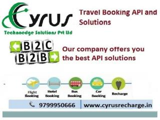 Online Travel Booking API  Solution by Cyrus API Solution