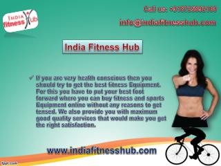 Get to Buy Fitness and Gym Equipment Online