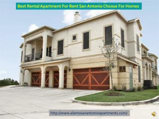Apartment For Rent San Antonio For Two Rooms