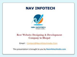 Nav Infotech – Best Website Designing & Development Company in Bhopal