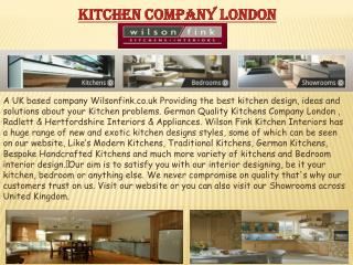 Kitchen Company London