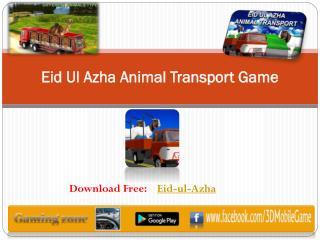 Eid Ul Azha Animal Transport